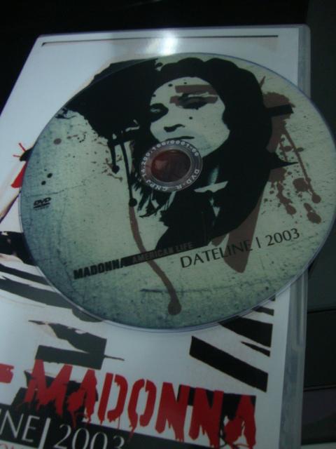 DVD Madonna American Life Dateline cd
