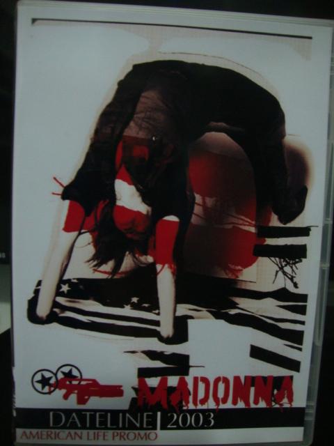 DVD Madonna American Life Dateline