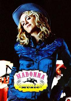 DVD Madonna Music
