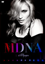 DVD Madonna Live At Paris - Olympia - França - Capa