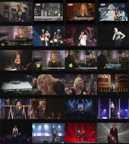 DVD Madonna Live At Paris - Olympia - França