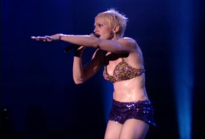 Madonna - The Girlie Show - Blu-ray e DVD