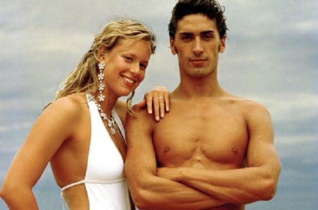 Federica Pellegrini e Filippo Magnini no clipe de Love Spent, de Madonna