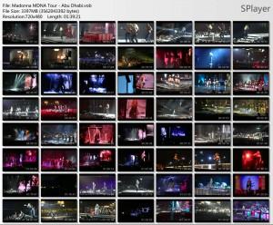 DVD Madonna MDNA Olympia Director´s Cut e Abu Dhabi