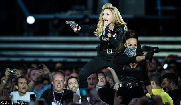 Madonna MDNA Tour Pepsi