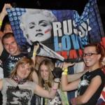 Madonna em São Petersburgo defende a comunidade gay
