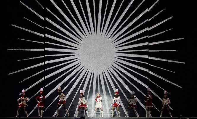 Madonna MDNA TOUR New Orleans