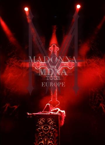 DVD MADONNA - MDNA TOUR EUROPE