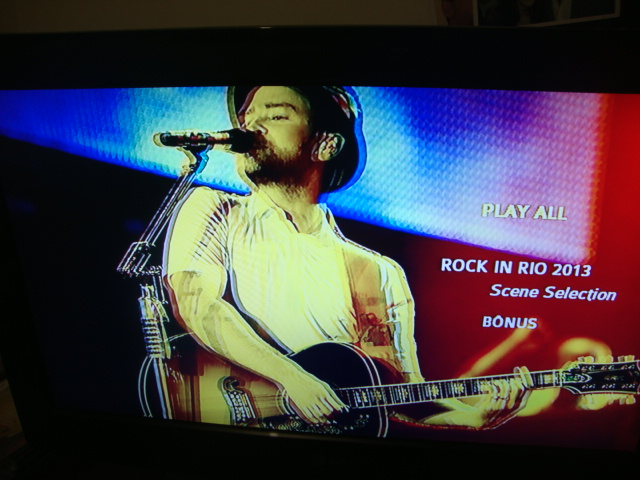 DVD Justin Timberlake Rock In Rio 2013 (4)