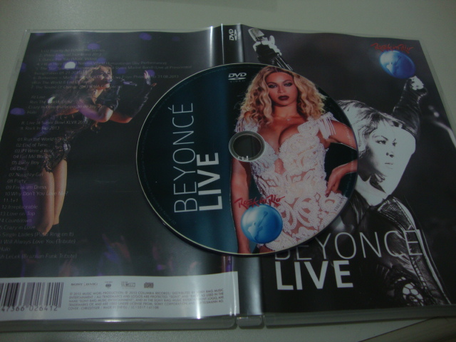 dvd beyoncé rock in rio 2013
