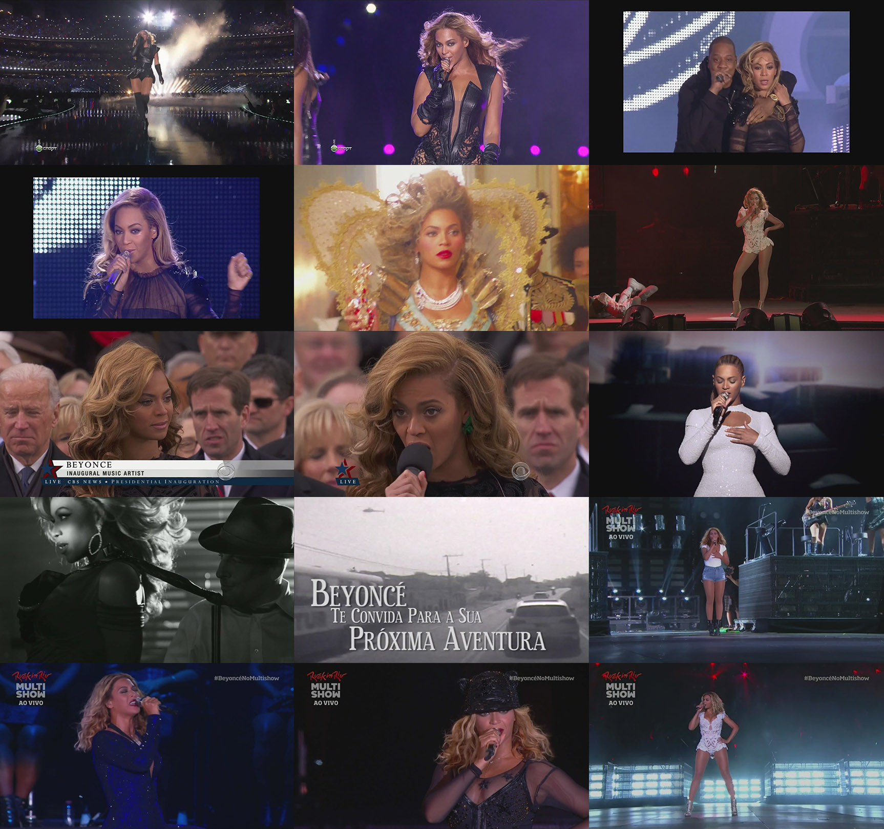 dvd beyoncé rock in rio superbowl chime of change