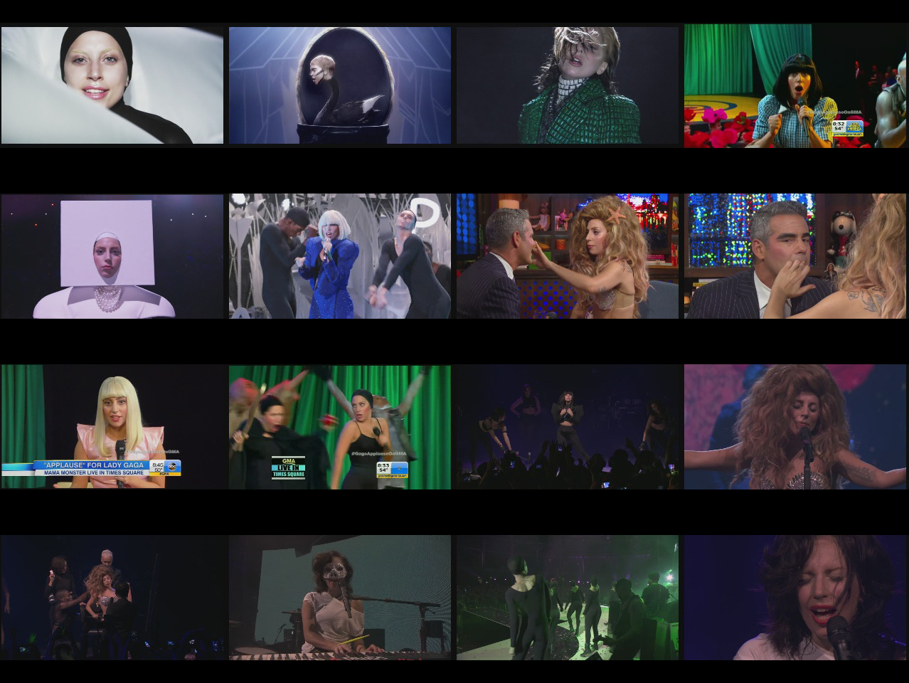 dvd lady gaga itunes festival capturas