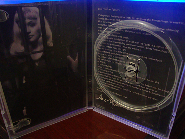 dvd madonna secret project 2013 2