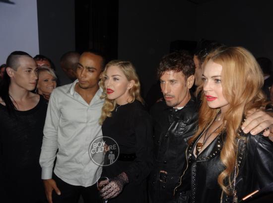 "Adoro minhas fotos no estilo ""Studio 54"", com Buzan, Gofin, Madonna, Klein & Lohan"