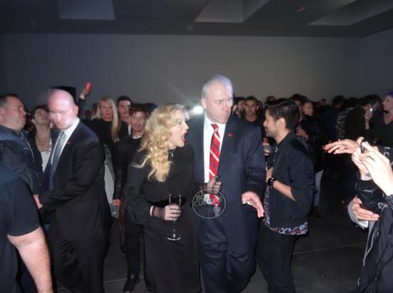 A hora em que Madonna viu Anderson Cooper