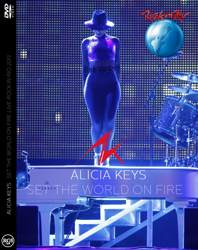 DVD ALICIA ROCK IN RIO 2013 set the world on fire tour