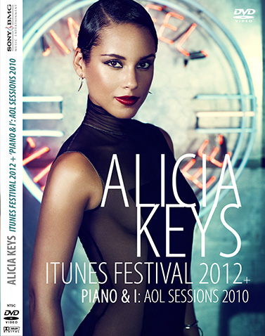 dvd alicia keys itunes festival 2012 e AOL Sessions 2010 - Piano & I capa