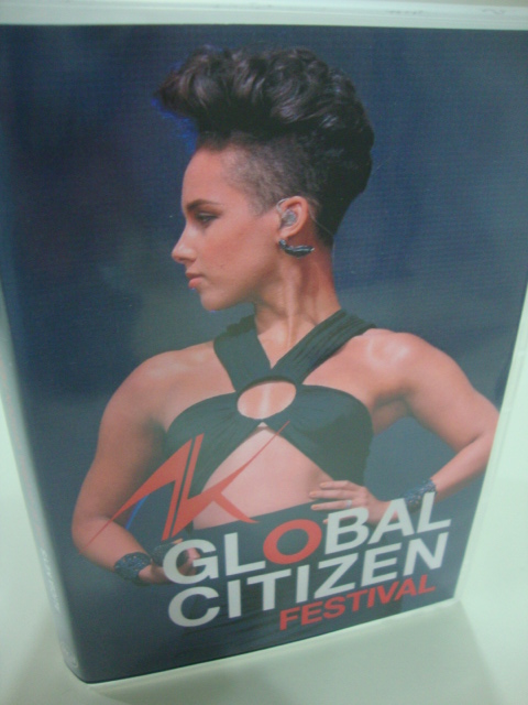 dvd alicia keys live global citizen festival 2013 (5)