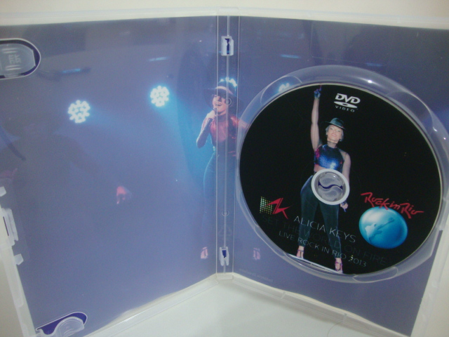 dvd alicia keys rock in rio 2013 (2) set the world on fire tour