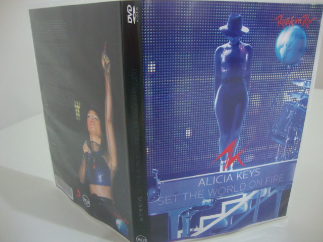 dvd alicia keys rock in rio 2013 set the world on fire tour
