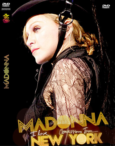 dvd madonna confessions tour New York NY cover