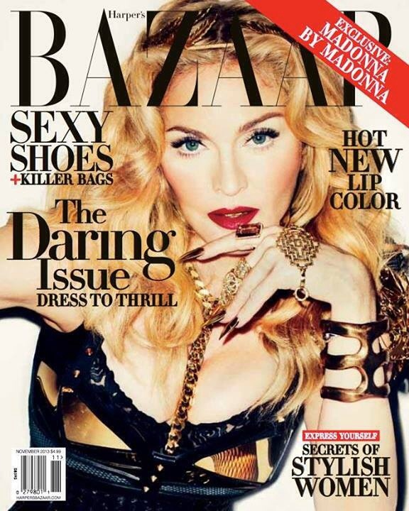 madonna-happer´s bazzar 2013