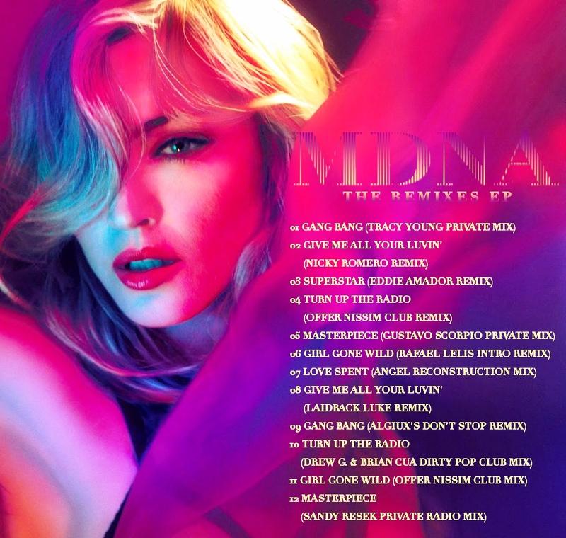 madonna mdna remixes EP