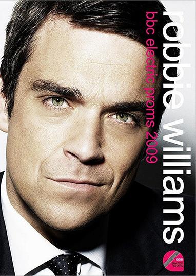 DVD ROBBIE WILLIAMS BBC ELECTRIC PROMS 2009