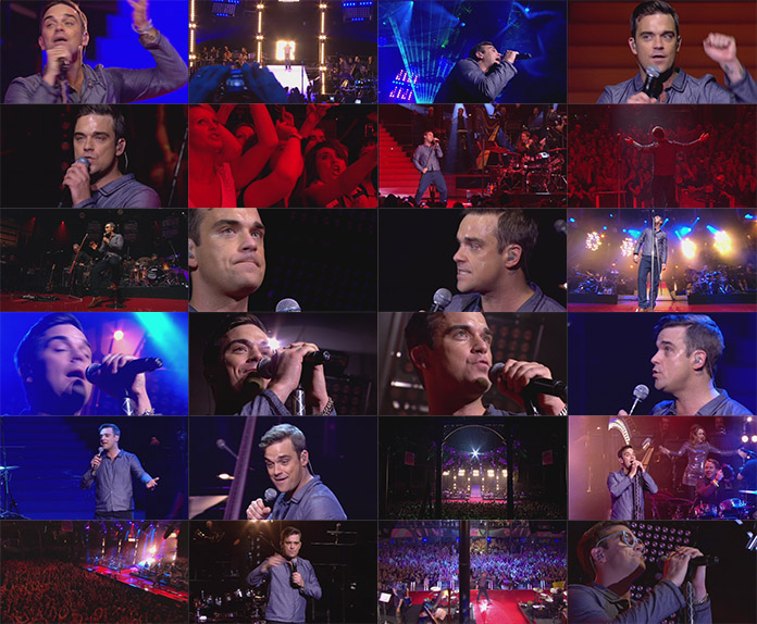 DVD ROBBIE WILLIAMS LIVE BBC ELECTRIC PROMS 2009