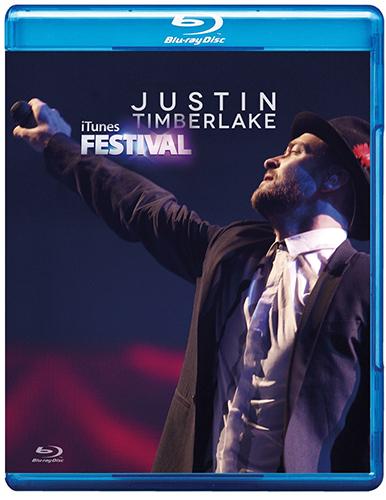 blu-ray justin timberlake itunes festival 2013