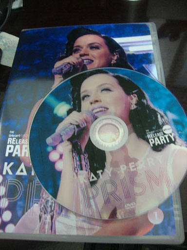 dvd katy perry prism release party iheart radio roar Unconditionally dar horse dvd cover 3