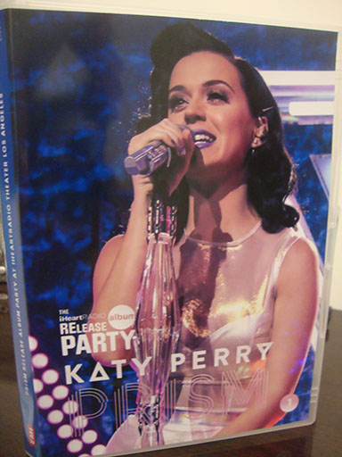 dvd katy perry prism release party iheart radio roar Unconditionally dar horse dvd cover 4