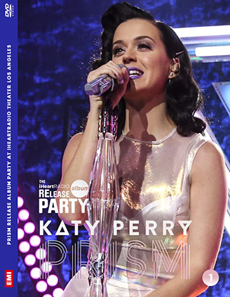 dvd katy perry prism release party iheart radio roar Unconditionally dar horse dvd cover