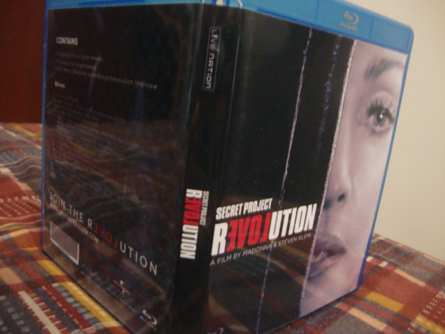 madonna blu ray secret project 2013-4