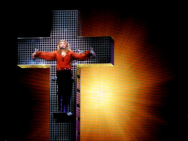 madonna confessions tour live to tell jesus