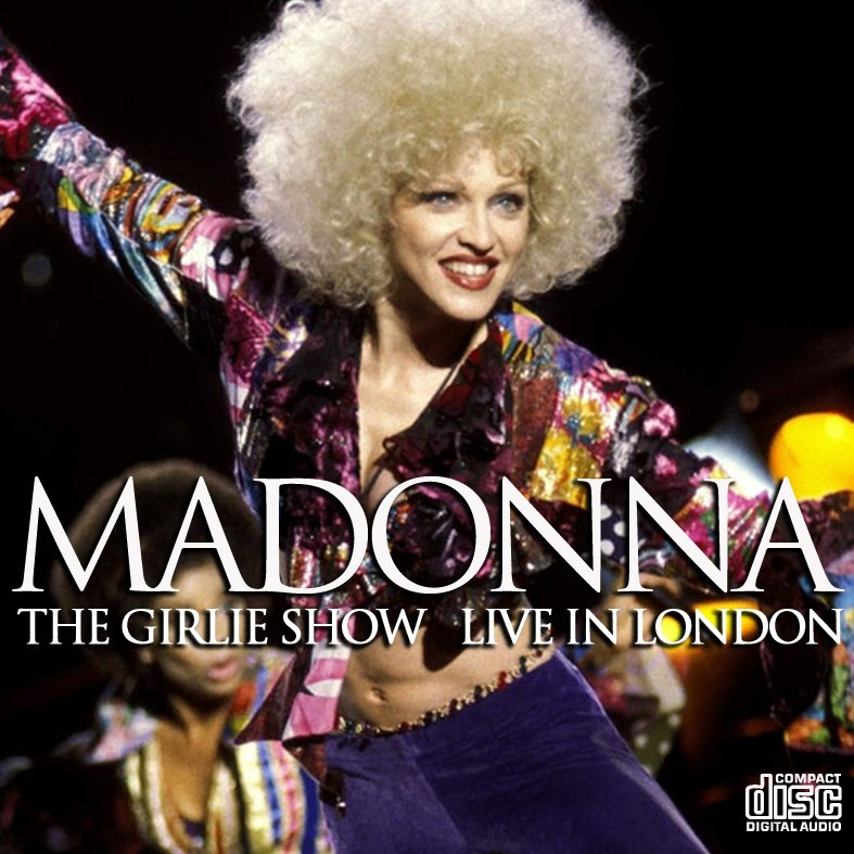 madonna - The Girlie Show London