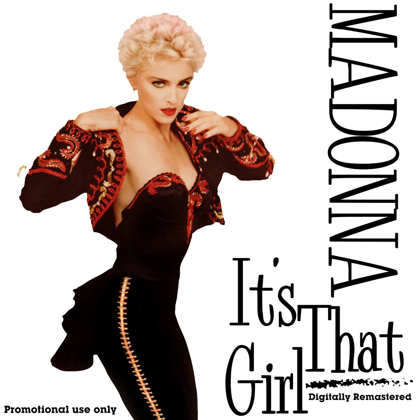 madonna - it's that girl promo CD