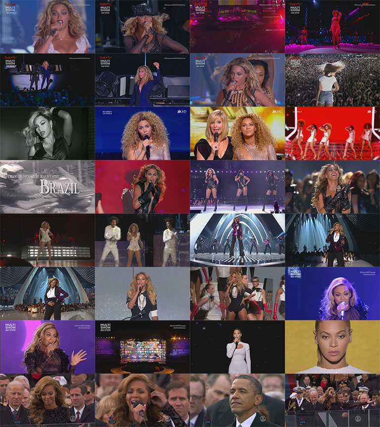 blu-ray beyoncé rock in rio chime of change 2013 superbowl