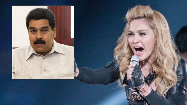 madonna presidente venezuela maduro
