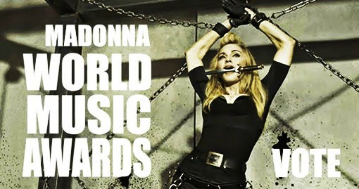 madonna world music awards 2014