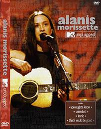 DVD alanis Morissette unplugged mtv pequeno