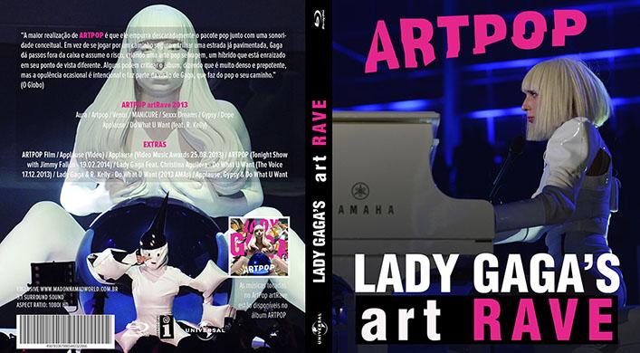 blu-ray lady gaga artrave artpop