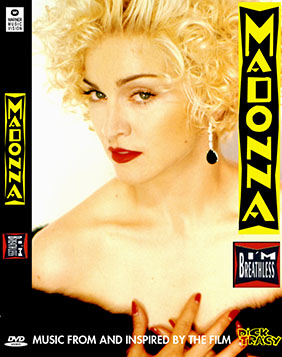dvd madonna im breathless vogue oscar 91 na cama com madonna dick tracy capa