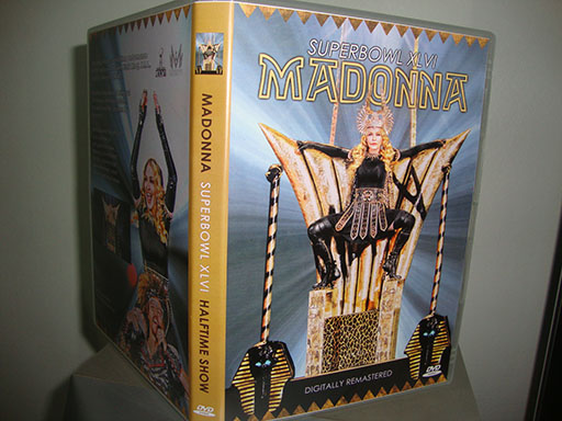 DVD madonna superbowl 2012 capa