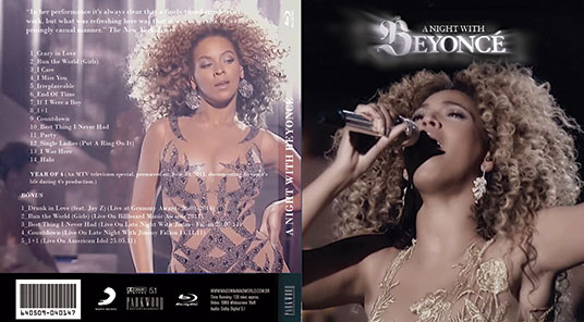 blu-ray beyoncé a night with e drunk in love grammy 2014