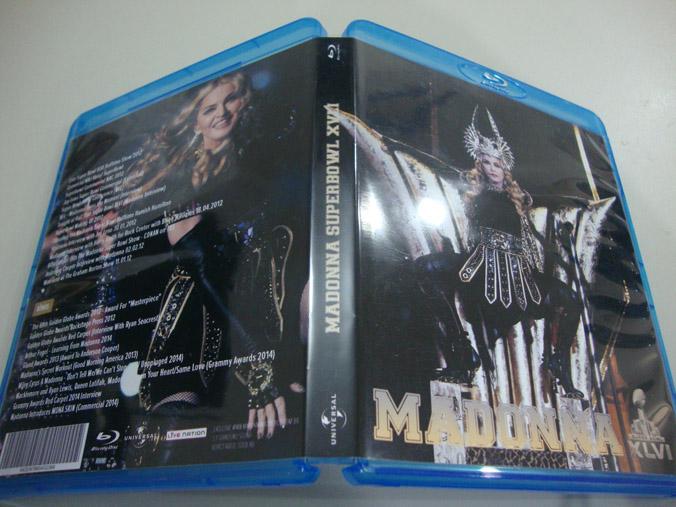 madonna blu-ray dvd supwerbowl grammy 2014 miley cyrus