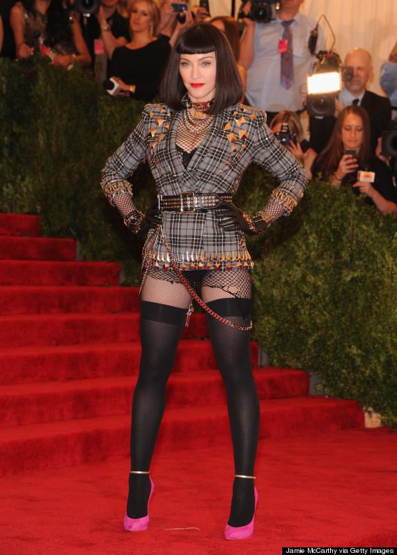 Madonna no Met Ball Gala em 2013