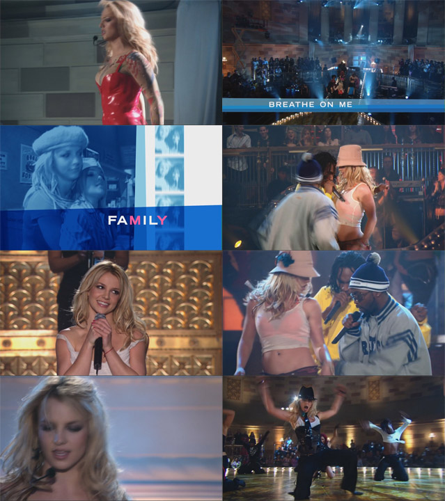 blu-ray britney spears in the zone capturas