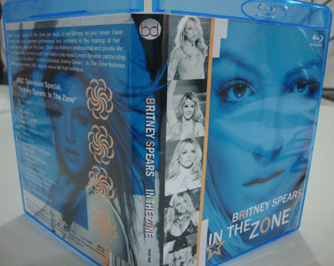 blu-ray britney spears in the zone