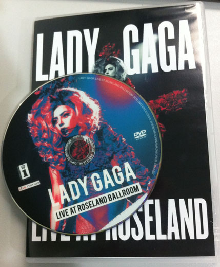 dvd lady gaga live at roseland artpop artrave ball tour cd